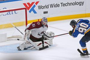 Blues stick it to Avalanche with shorthanded goal in overtime