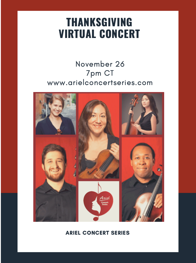 Thanksgiving Concert by Ariel Concert Series