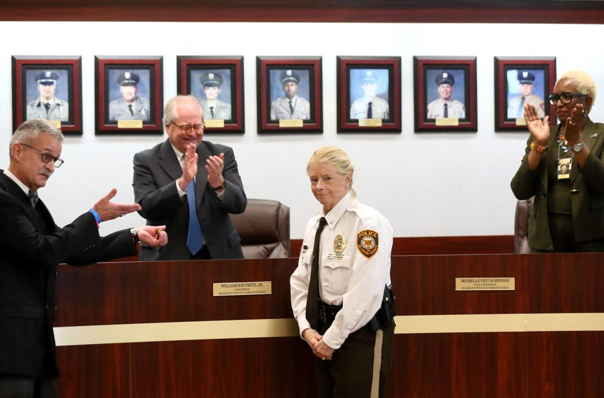 Mary Barton sworn in St. Louis County Police Chief