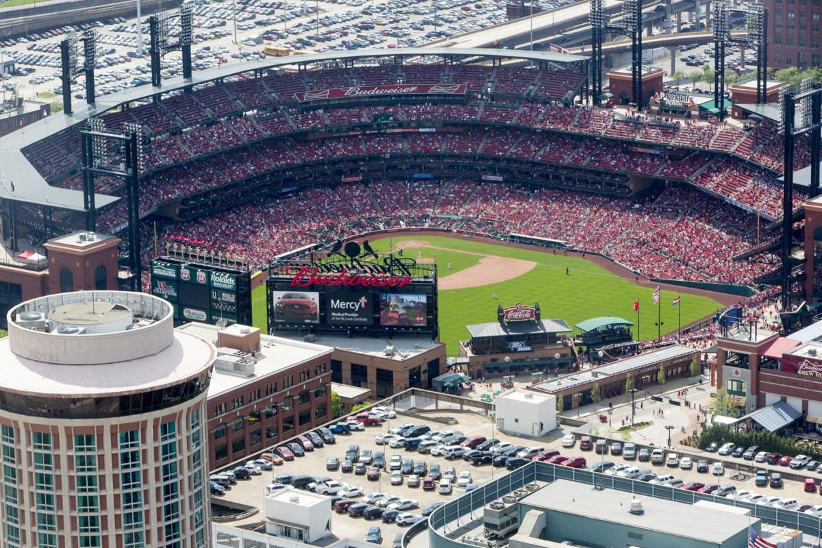 cards fan grazed by stray bullet during game at busch law and order. Black Bedroom Furniture Sets. Home Design Ideas