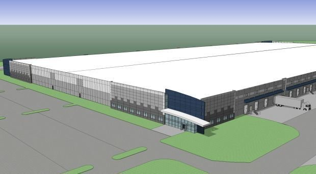 Spec building planned for Gateway Commerce Center