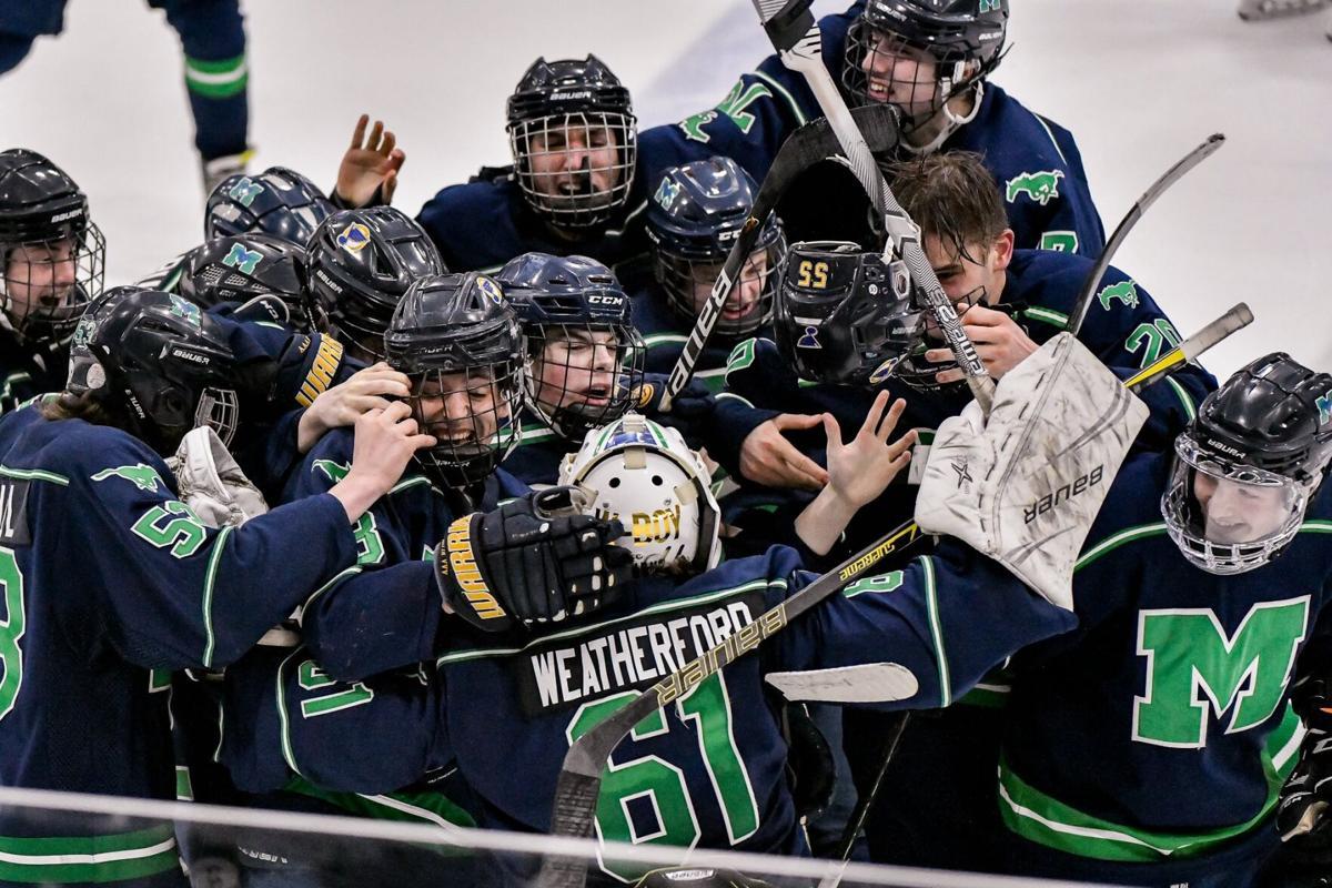 02/27/2021 - ice hockey - Marquette vs De Smet