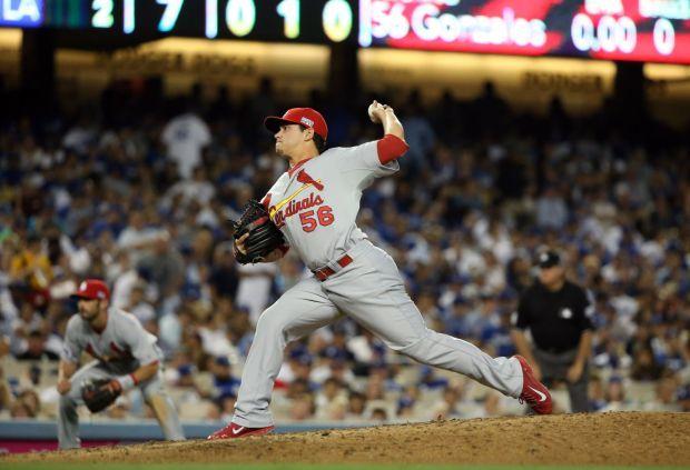 Cardinals v Dodgers NLDS Game 2
