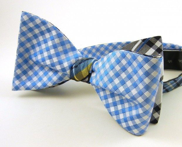 A reversible bow tie, $15 at thetiebar.com