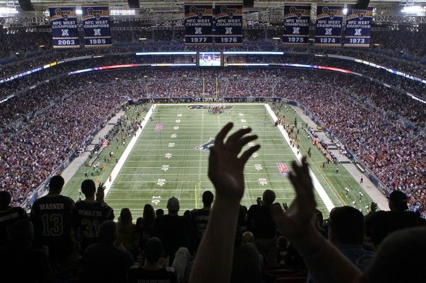 Rams at Edward Jones Dome