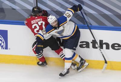 Blackhawks Blues Hockey