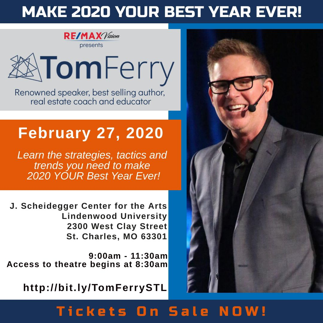 Tom Ferry Live in St. Louis