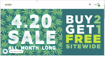 CBD Kratom's 420 Sale