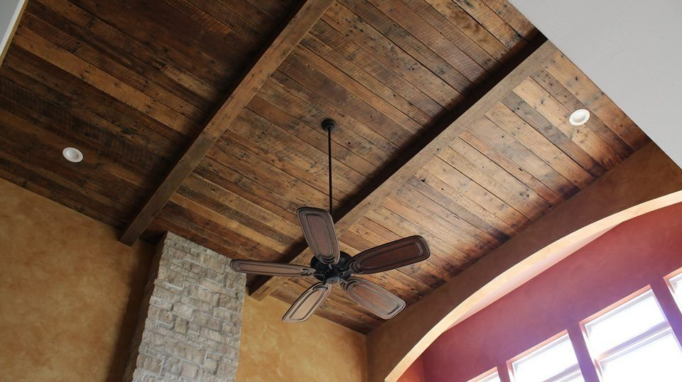 Made In St Louis Barn Wood Ceiling