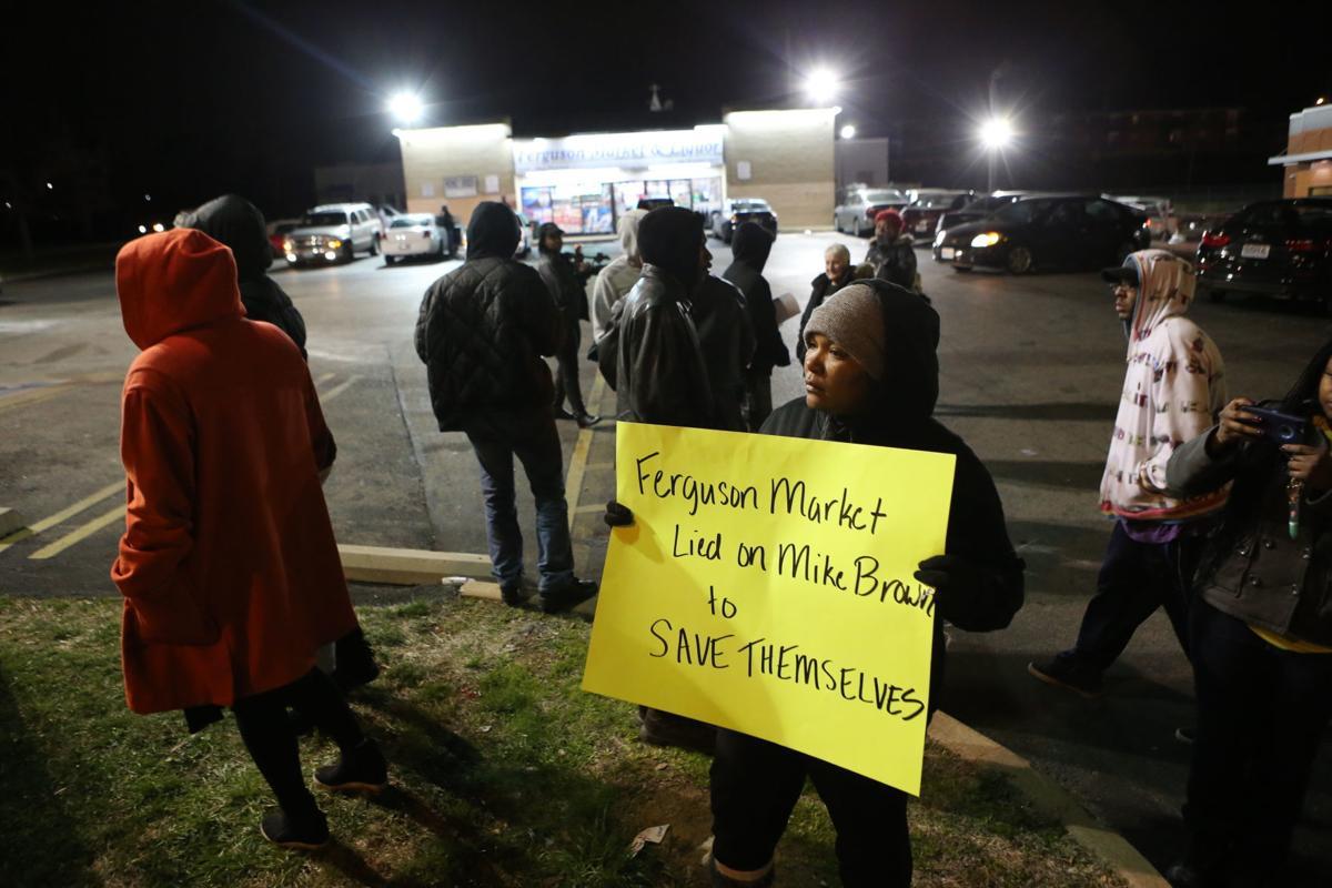 Protest at Ferguson Market
