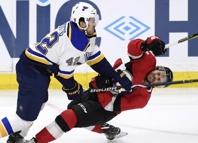 Blues Senators Hockey