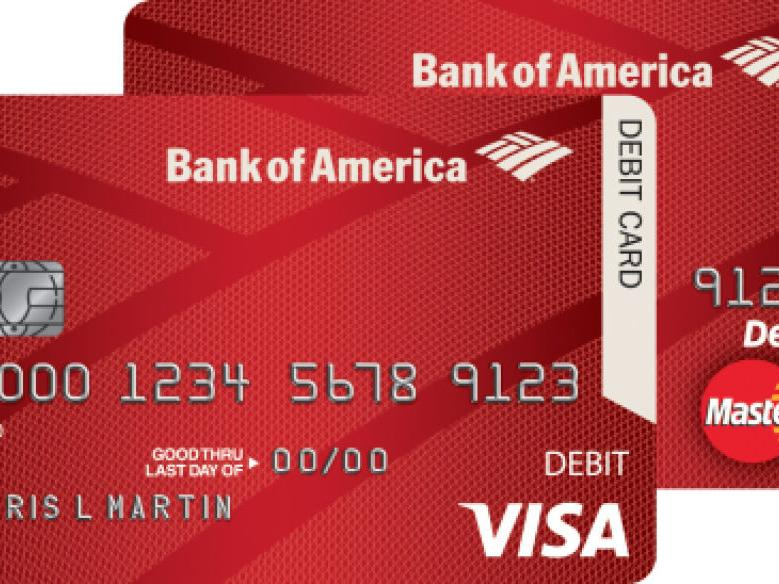 bank of america chip card not working