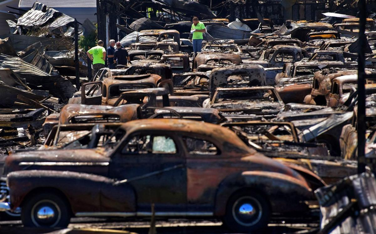 Rural Illinois Town Mourns After Major Fire Damages Classic Car