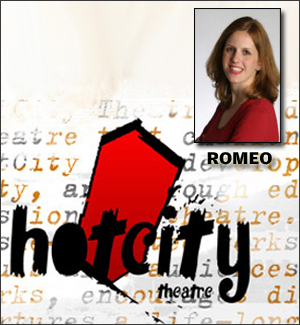 Lia Romeo writing play for HotCity Theatre