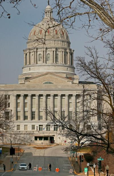 Missouri capitol closed, quiet