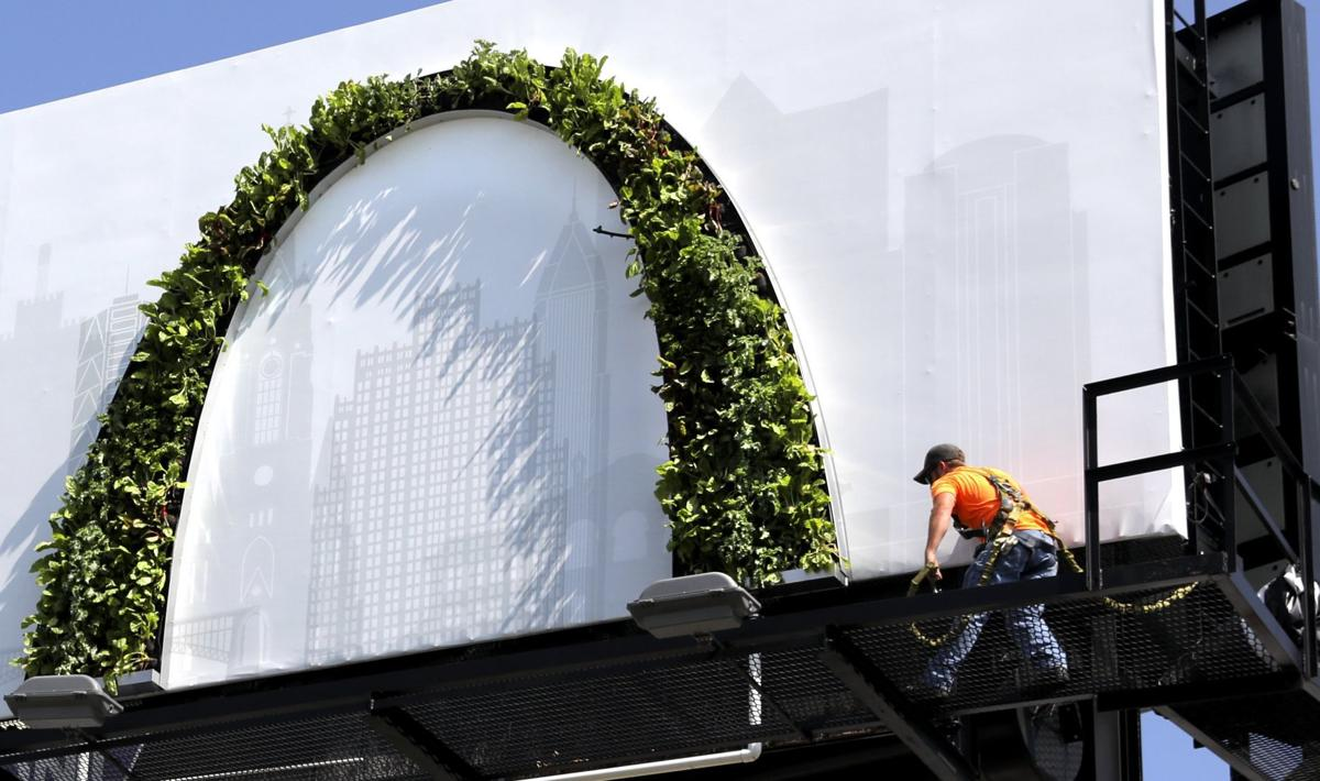 Bayer Unveils New Growing Arch Billboards