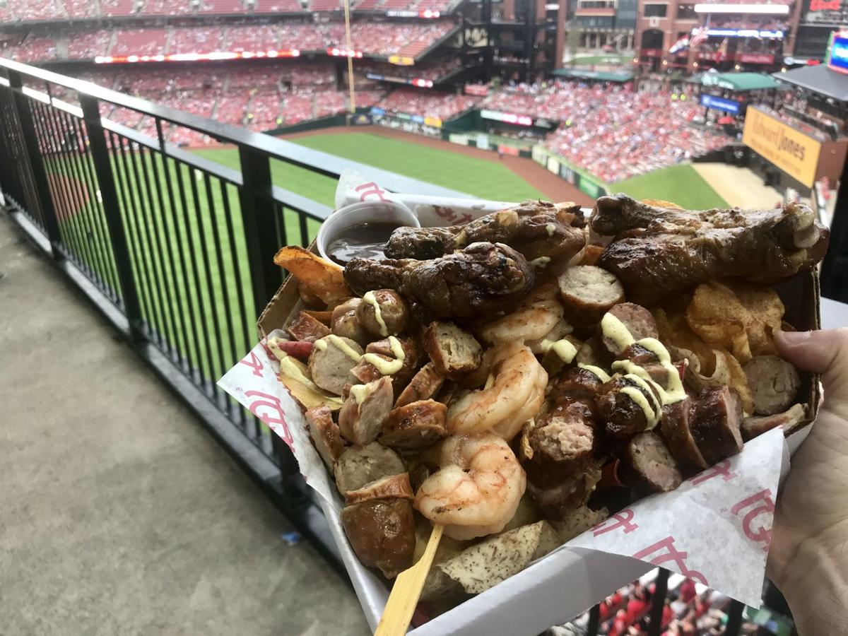 Hochman: Meat, me in St Louis – devouring Busch Stadium's $26 meal (with some help)