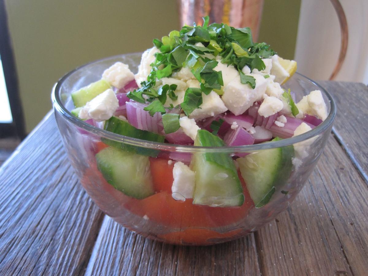 J's Pitaria Mediterranean Cuisine house salad