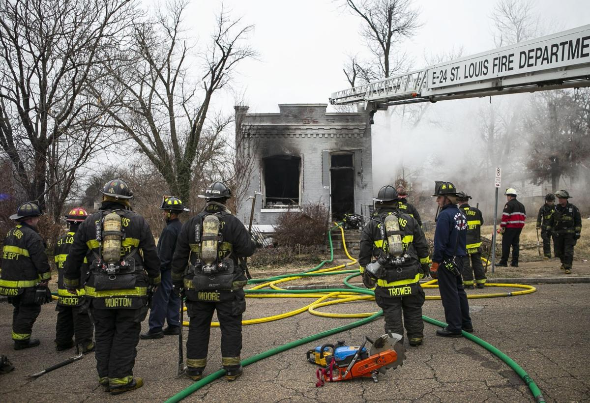 Building fire at the 4125 block of Obear Avenue in Fairground
