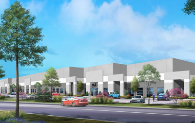Rendering of the new RLS headquarters building on Pershall Road in Hazelwood