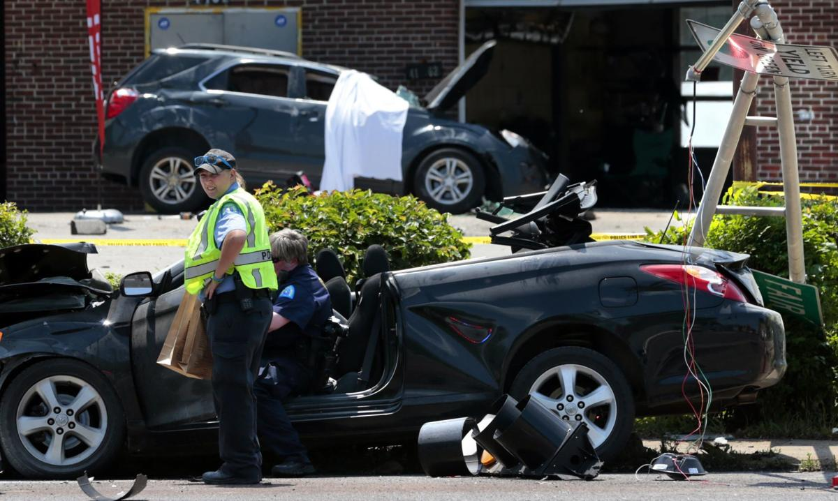 One dead, two injured in crash on Natural Bridge