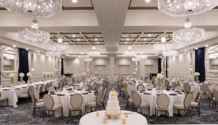 Hotel St. Louis ballroom