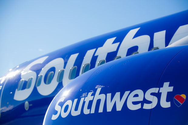 Southwest Airlines unveils new look with heart