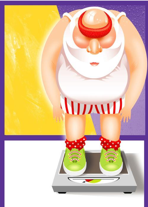 20091110 Overweight Santa