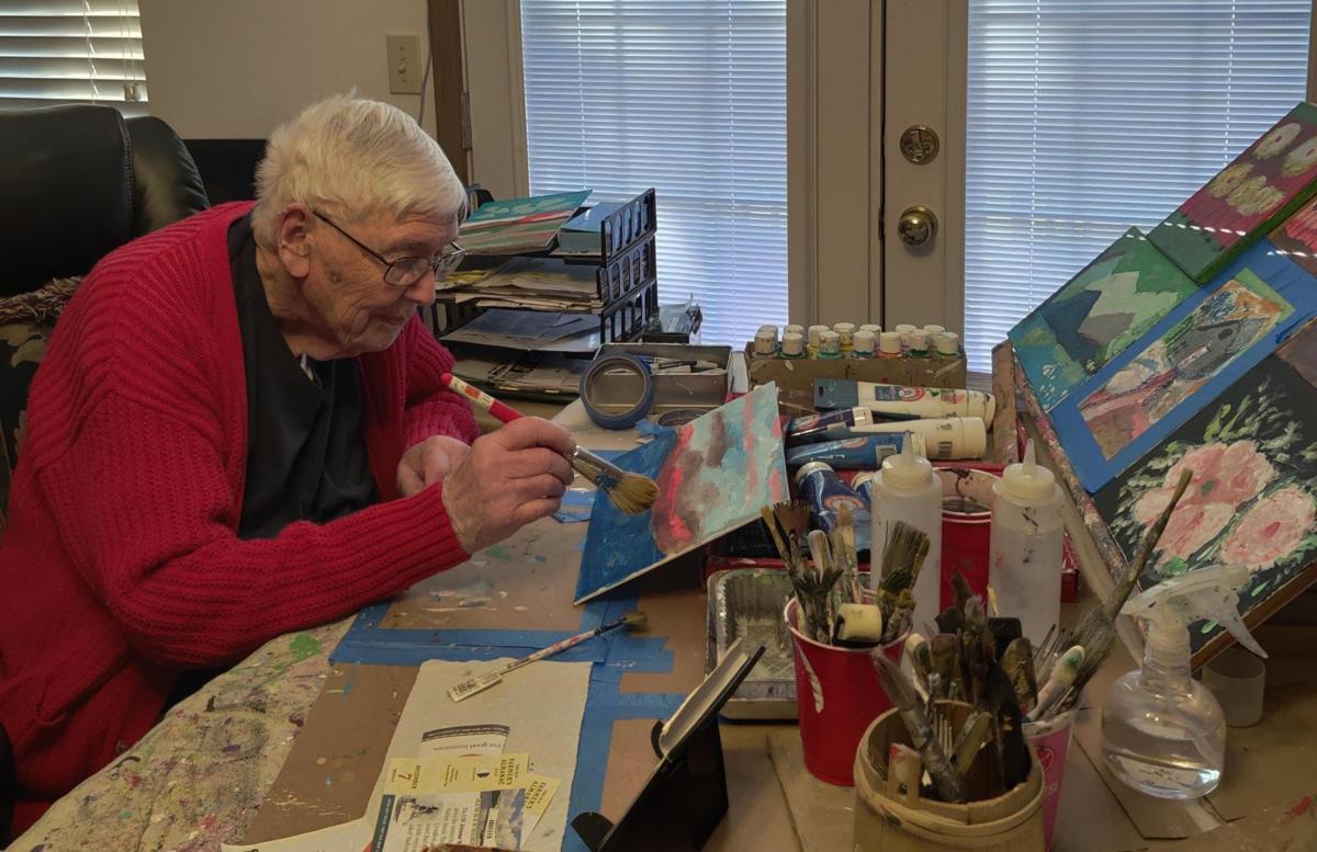97-year-old artist