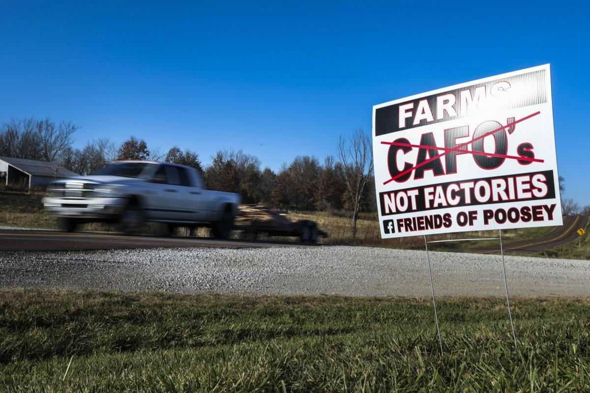 Chillicothe residents fight back on hog farm.