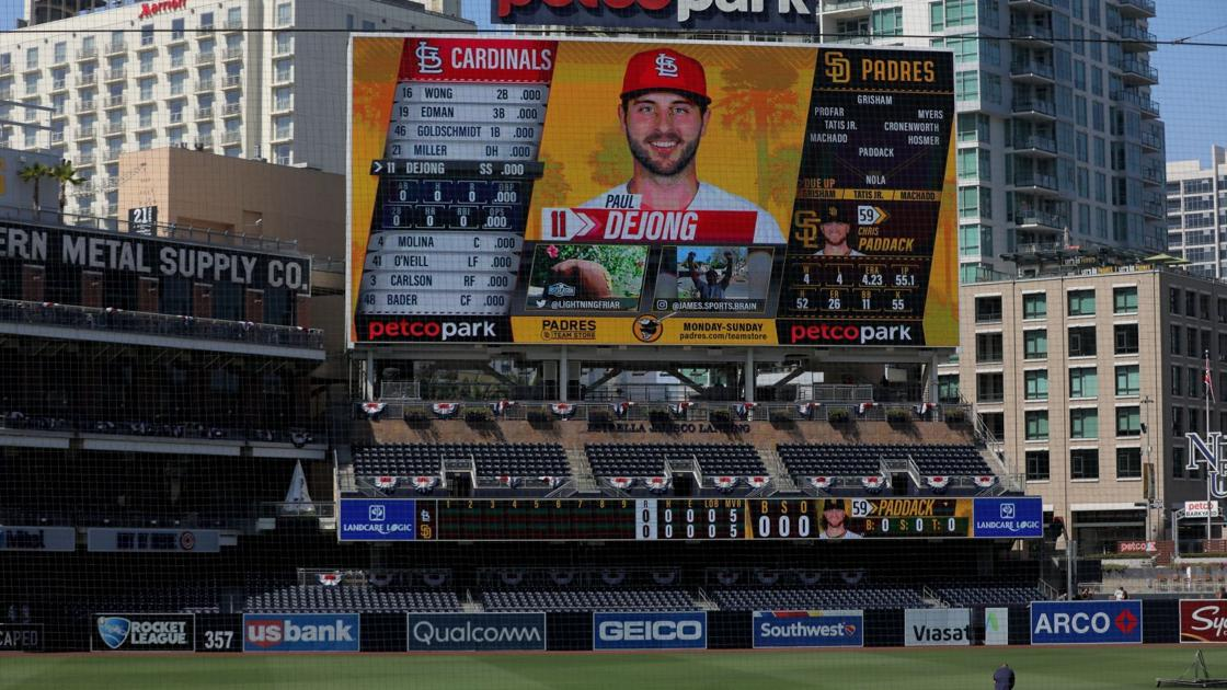 Photos: Cardinals and Padres each practice at Petco Park for National League wild-card series