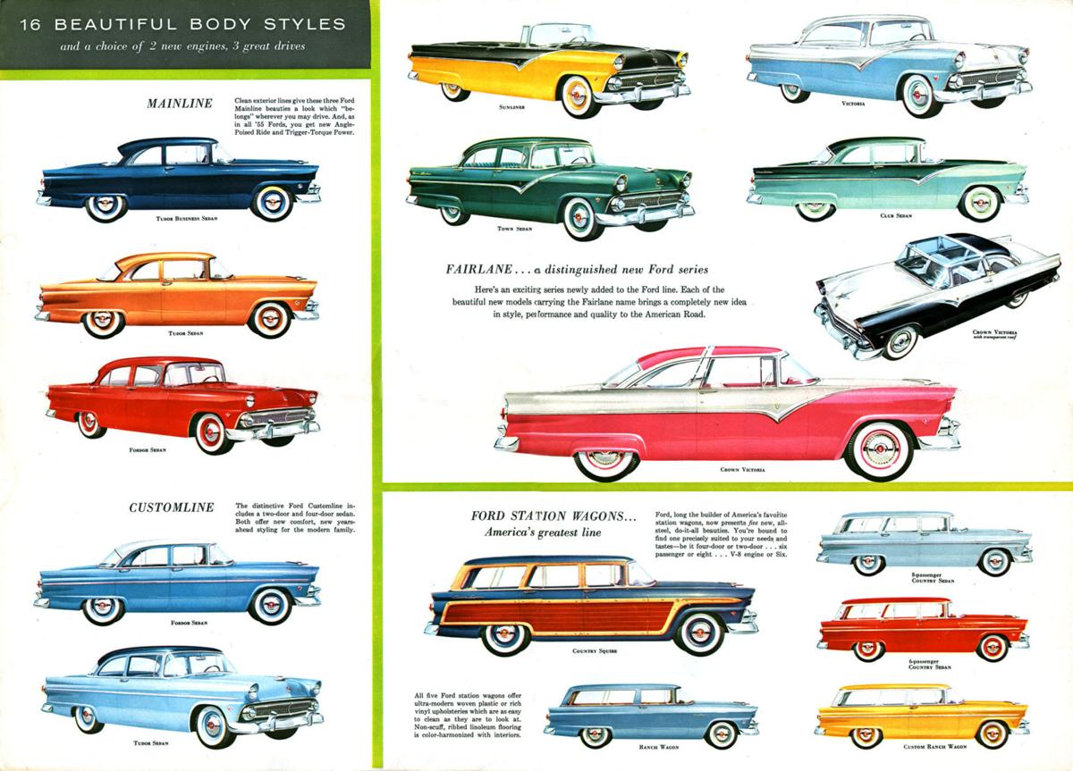 Bumblebees Are Nothing New Automotive 1955 Ford F100 Paint Colors