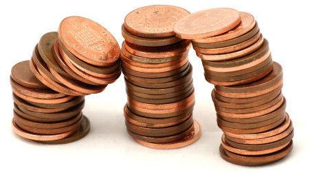 A North Carolina man glued 51,300 pennies to the surface of his Chevy  Blazer. Screenshot: KTNV-TV