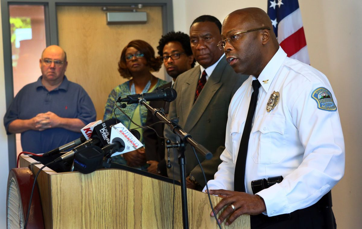 Ferguson names new interim police chief Ferguson