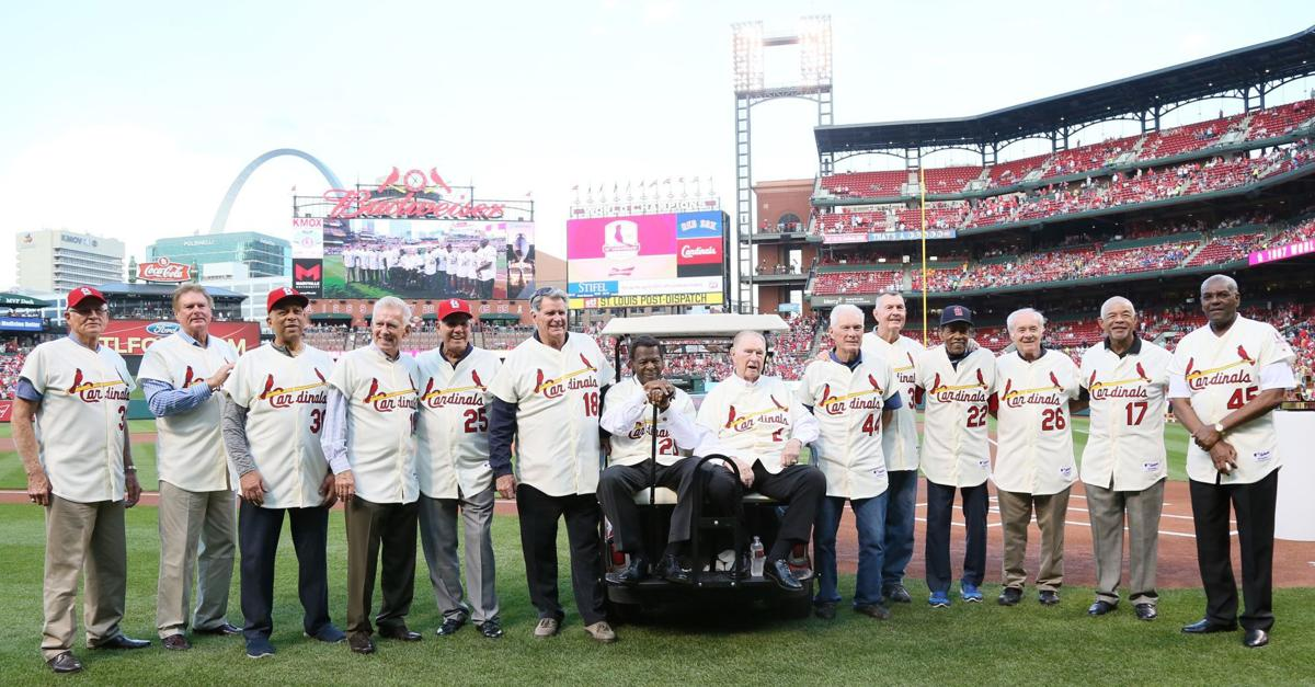 St Louis Cardinals 1967 World Series Team Honored