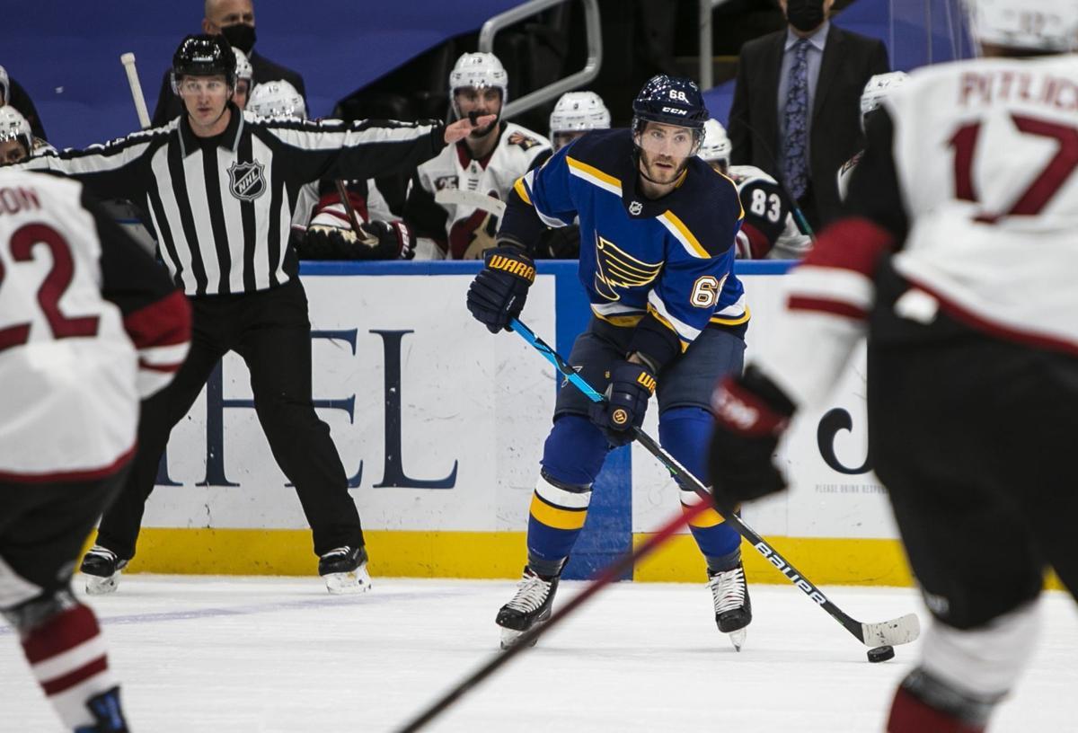 St. Louis Blues vs. the Arizona Coyotes
