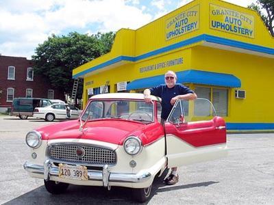 Auto Restoration Shop Finds A Home In Granite City Local Illinois