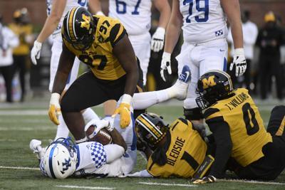 Kentucky Missouri Football