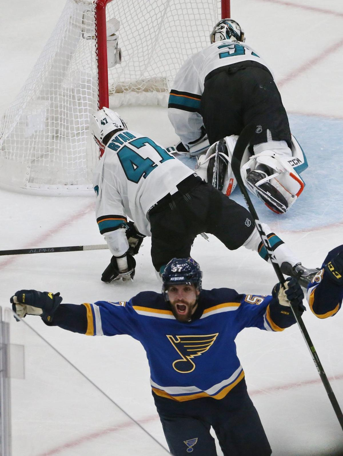 Blues and Sharks go for broke in game 6 of the semifinals