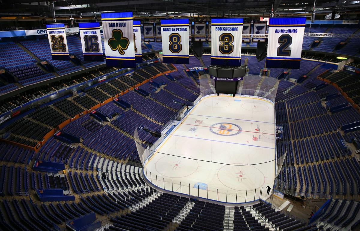 Here was our view: Scottrade Center