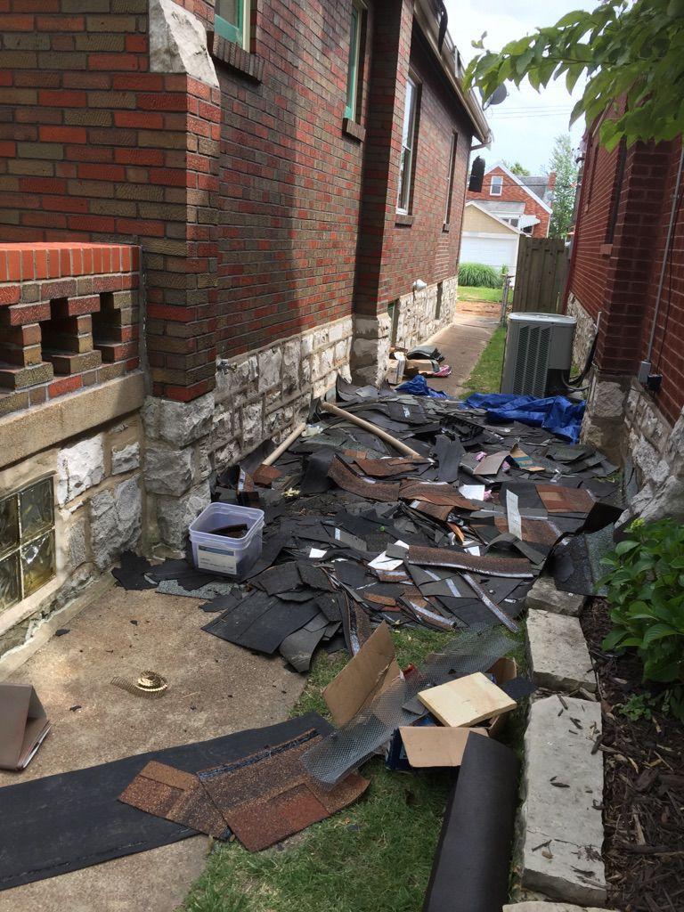 Trash near McInnis home