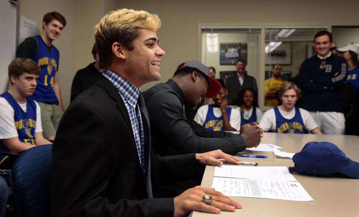 Star running back at John Burroughs signs with Indiana State