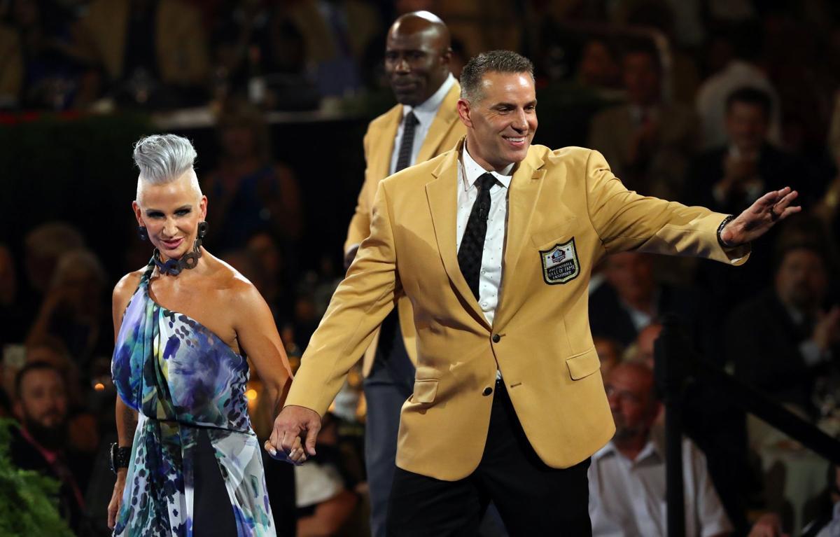 Image result for Kurt Warner's Gold Jacket Ceremony