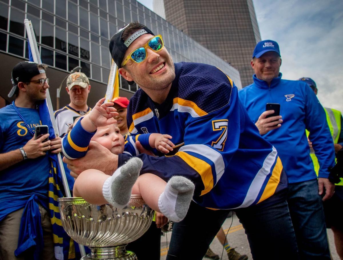 St. Louis Blues, fans celebrate Stanley Cup victory