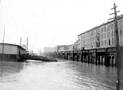 Look Back:  East St. Louis Flood, 1903