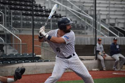 Andrew Warner plays a game for Columbia College