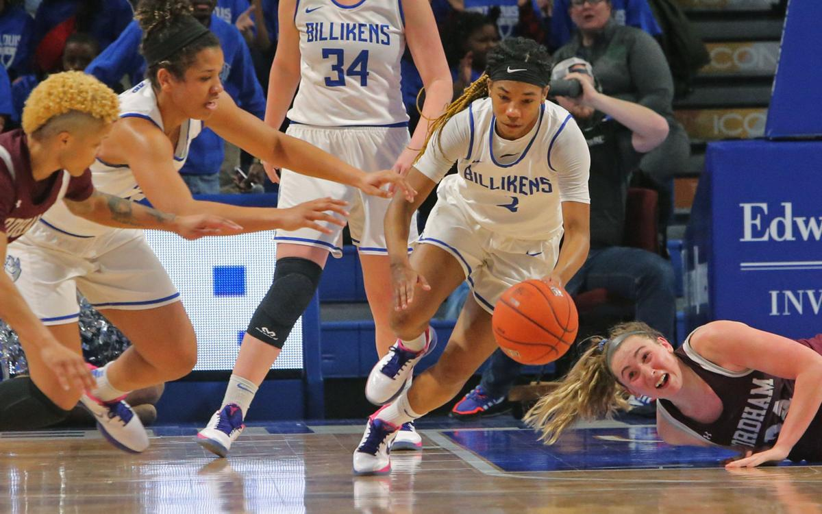 Saint Louis pulls away from Fordham in the final minutes