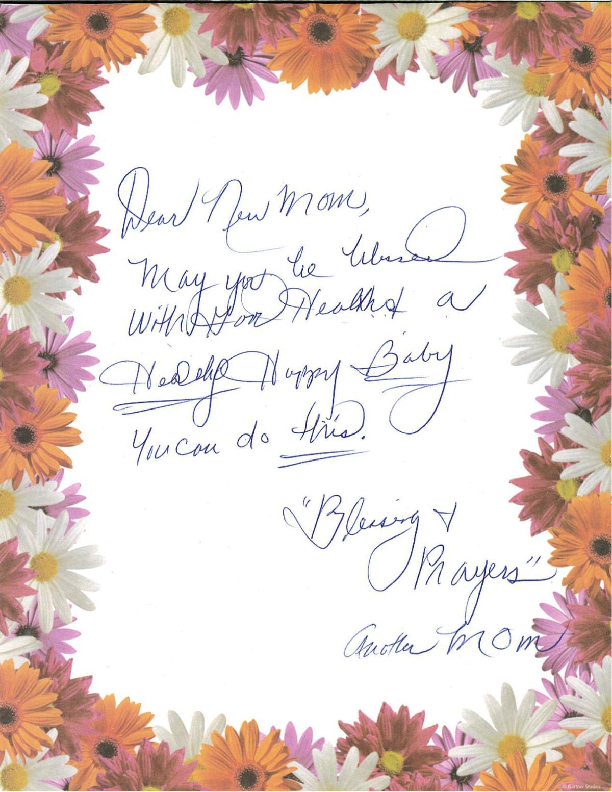 A local group makes a big push for Mothers Day 40 Letters of
