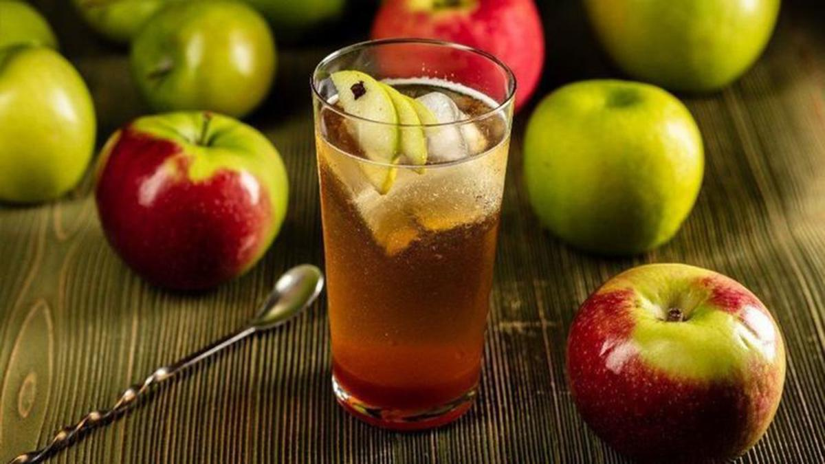Boiled Cider Is The Star Ingredient In This Drink Mill Which Combines Apple Schnapps And Ginger Beer For An Autumn Treat