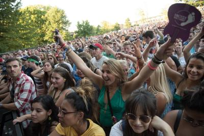 Day one of LouFest in Forest Park